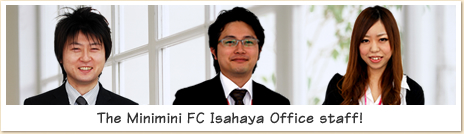 Our store staff is proud of Isahaya Minis FC.